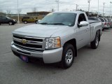 2010 Chevrolet Silverado 1500 LS Regular Cab 4x4 Front 3/4 View