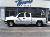 2001 Summit White Chevrolet Silverado 1500 LT Extended Cab 4x4 #46318210