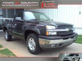 2005 Dark Gray Metallic Chevrolet Silverado 1500 Z71 Regular Cab 4x4 #46318225