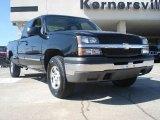 2004 Black Chevrolet Silverado 1500 LS Extended Cab 4x4 #46318235