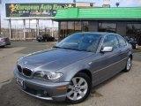 2005 Silver Grey Metallic BMW 3 Series 325i Coupe #46318124