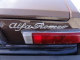 Alfa Romeo Spider 1981 Badges and Logos