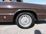 Alfa Romeo Spider 1981 Wheels and Tires