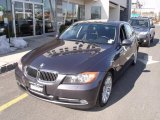 2007 Sparkling Graphite Metallic BMW 3 Series 335xi Sedan #46318276