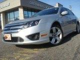2010 Brilliant Silver Metallic Ford Fusion Sport #46318005