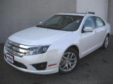 2011 White Platinum Tri-Coat Ford Fusion SEL #46337212