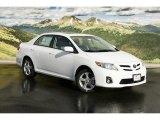 2011 Super White Toyota Corolla LE #46337188