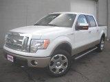 2011 Oxford White Ford F150 Lariat SuperCrew 4x4 #46337215
