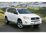 2011 Super White Toyota RAV4 V6 Sport 4WD #46337199
