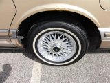 Lincoln Town Car 1990 Wheels and Tires