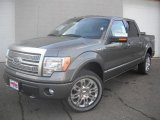 2011 Sterling Grey Metallic Ford F150 Lariat SuperCrew 4x4 #46337217