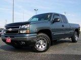 2006 Blue Granite Metallic Chevrolet Silverado 1500 Z71 Extended Cab 4x4 #4610028