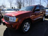 2006 Inferno Red Crystal Pearl Jeep Grand Cherokee Limited 4x4 #46345193