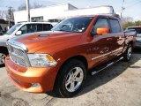 2010 Sunburst Orange Pearl Dodge Ram 1500 Big Horn Crew Cab 4x4 #46345198