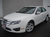 2011 White Suede Ford Fusion SE #46344532