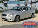 2008 Tungsten Silver Pearl Lexus IS 250 #46345204