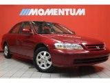 2002 Firepepper Red Pearl Honda Accord EX Sedan #46345002