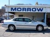 2001 Galaxy Silver Metallic Chevrolet Impala LS #46344688