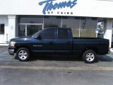 2006 Patriot Blue Pearl Dodge Ram 1500 SLT Quad Cab #46345027