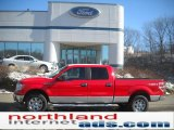 2011 Race Red Ford F150 XLT SuperCrew 4x4 #46344575