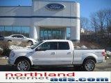 2011 White Platinum Metallic Tri-Coat Ford F150 Platinum SuperCrew 4x4 #46344576
