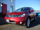 2007 Sunset Red Pearl Metallic Nissan Murano SL AWD #46344888