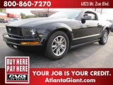 2005 Black Ford Mustang V6 Premium Coupe #46345281