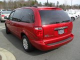 2002 Chrysler Town & Country Inferno Red Tinted Pearlcoat