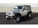 2011 Bright Silver Metallic Jeep Wrangler Sport S 4x4 #46345379