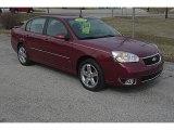 2007 Sport Red Metallic Chevrolet Malibu LTZ Sedan #46345141