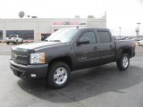 Taupe Gray Metallic Chevrolet Silverado 1500 in 2011