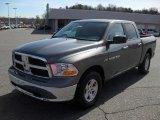 2011 Mineral Gray Metallic Dodge Ram 1500 SLT Crew Cab #46345161