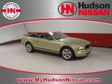 2006 Legend Lime Metallic Ford Mustang V6 Premium Convertible #46396443