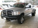 2007 Dodge Ram 3500 SLT Mega Cab 4x4 Dually Front 3/4 View