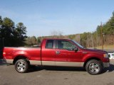 2006 Dark Toreador Red Metallic Ford F150 XLT SuperCab #46397158