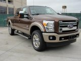2011 Ford F250 Super Duty Golden Bronze Metallic