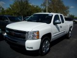 2011 Summit White Chevrolet Silverado 1500 LT Extended Cab #46397175