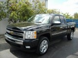 2011 Black Chevrolet Silverado 1500 LT Extended Cab #46397178