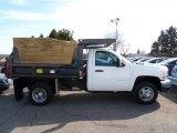 2010 Chevrolet Silverado 3500HD Work Truck Regular Cab 4x4 Chassis Dump Truck Data, Info and Specs