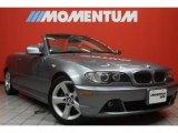 2004 Silver Grey Metallic BMW 3 Series 325i Convertible #46397550