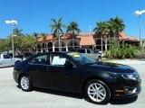 2010 Tuxedo Black Metallic Ford Fusion SEL V6 #46397202