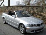 2006 Titanium Silver Metallic BMW 3 Series 330i Convertible #46397204