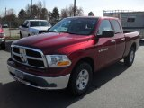 2011 Deep Cherry Red Crystal Pearl Dodge Ram 1500 SLT Quad Cab #46397769