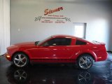 2007 Torch Red Ford Mustang V6 Deluxe Coupe #4622313