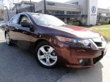 2009 Basque Red Pearl Acura TSX Sedan #46397229