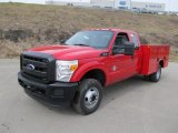 2011 Ford F350 Super Duty XL SuperCab 4x4 Chassis Commercial Data, Info and Specs