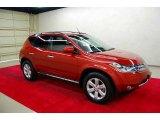 2006 Sunset Red Pearl Metallic Nissan Murano SL #4616750