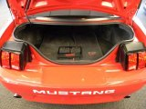 2002 Ford Mustang Roush Stage 3 Coupe Trunk