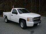 2008 Summit White Chevrolet Silverado 1500 LT Regular Cab #46397846