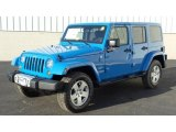 2011 Cosmos Blue Jeep Wrangler Unlimited Sahara 4x4 #46397936